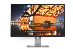 "Dell U2715H, 27"" Wide LED, IPS Panel, UltraSharp, 6 ms, 1000:1, DCR : 2 Million:1, 350 cd/m2, 2560x1440, 5USB, HDMI, DisplayPort , Height Adjustable, Pivot, Swivel, Tilt, Black"