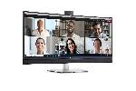 "Dell C3422WE, 34"" Curved Video Conferencing WQHD AG, IPS, 21:9, 5ms, 1000:1, 300 cd/m2, (3440x1440), 5MP IR camera, 5W speakers, HDMI, DP, USB-C, USB 3.2, RJ-45,  Microphon, Swivel, Tilt, Slant, Black"