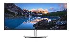 """Dell U3821DW, 37.5"""" UltraSharp Curved WQHD+  AG, IPS, 21:9, 5ms, 1000:1, 300 cd/m2, (3840x1600), HDMI, DP, USB-C Hub, USB 3.2, RJ45, Height Adjustable, Swivel, Tilt, Black"""
